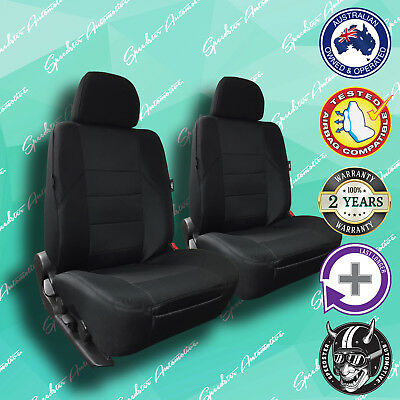 For Toyota Yaris, Black Front Car Seat Covers, High Quality Elegant Jacquard