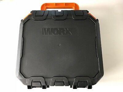 Worx Drill ( WX386 ) Battery Charger Carry Case Box Holder