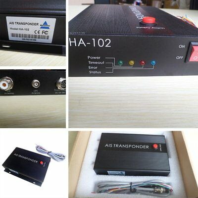 Matsutec HA-102 CLASS B AIS Transponder 2 Channels Function CSTDMA Function EG