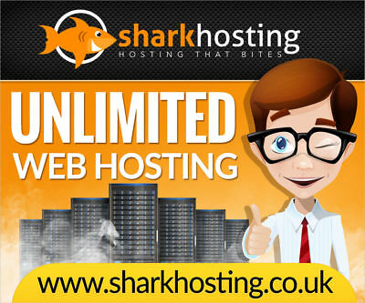 **1 Year** Unlimited Website Web Hosting €1 @ SharkHosting.co.uk SSL