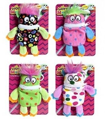 Little Worry Monster Bag clip 14cm Plush Soft Toy - 4 to choose from