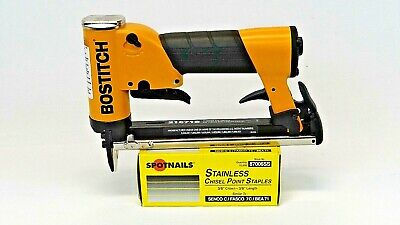 Boat Upholstery Stapler , Bostitch, 21671B,  &10,000 Stainless Steel Staples