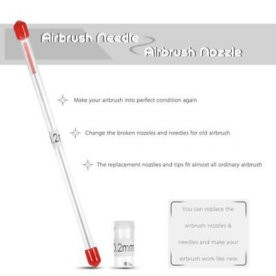 0.2mm Airbrush Nozzle and Needle Replacement for Airbrushes Spray Gun Model Q0L0