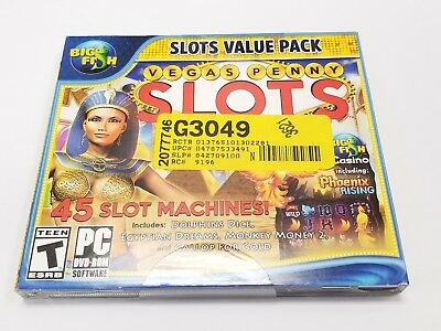 Vegas Penny Slots + Big Fish Casino for PC Brand New and Sealed **READ LISTING**