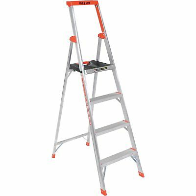 Little Giant 15270-001 Flip-N-Lite Aluminum Platform Step Ladder - 6', Lot of 1