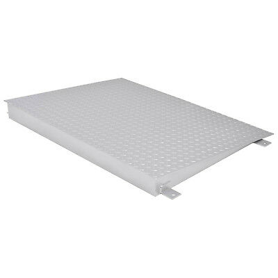 "Ramp for Pallet Scale, Steel, 48"" x 36"" x 4"", Lot of 1"