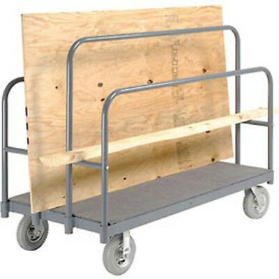 "Panel, Sheet & Lumber Truck with Carpeted Deck, 1200 Lb. Capacity, 60""L x 30""W,"