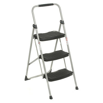 Werner 223-6, 3 Step Steel Folding Step Ladder 225 lb. Cap, Lot of 1