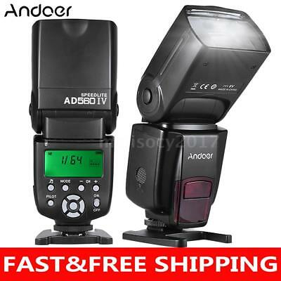Andoer 2.4G Wireless Universal On-camera Slave Speedlite Flash for Sony A7/A7 II