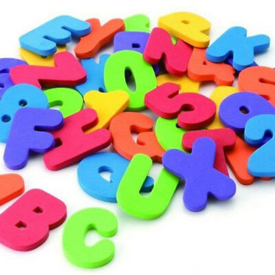 36Pcs Education Alphabet Learning Toy Intelligence Bath Foam Letters Numbers