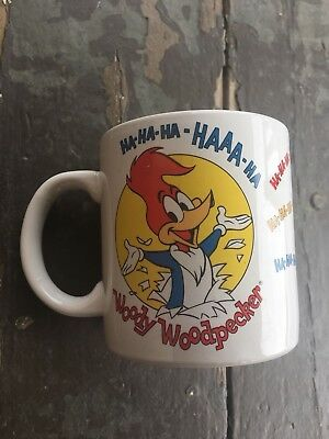 1983 Woody Woodpecker Coffee Mug, Walter Lantz Comic Book, Three Cheers