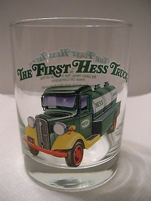 Hess 1996 Classic Truck Series Collectors Glass The First Hess Truck Never Used