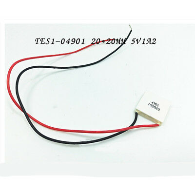 TES1-04901 5V 1A 23x23mm Thermoelectric Cooler Peltier Plate Module