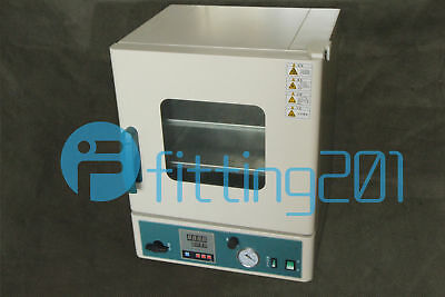 New Stainless Steel Digital Vacuum Drying Oven 250°C 12x12x11 DZ-1BCⅡ
