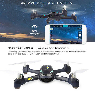 Hubsan H216A X4 DESIRE PRO RC Drone 2.4GHz Wireless 1080P WiFi Camera Waypoints