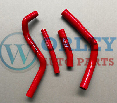 Red silicone radiator hose for YAMAHA YZ450F YZF450 2014 2015 2016