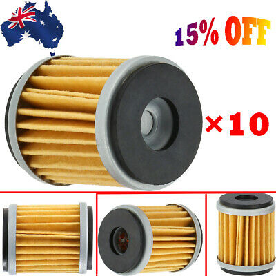 10x Oil Filter for YAMAHA YZ450F WR450F YZ250F WR250F YZF R125 MBK125 XT250 AU