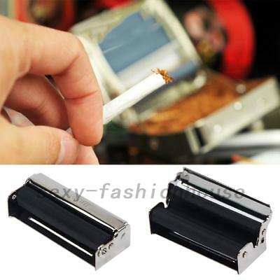 AU 70mm Easy Manual Tobacco Roller Hand Cigarette Maker Rolling Machine Tool New