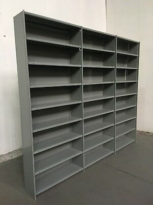 Metal Shelving, CHEAPEST ON EBAY. 3 joined Bays JUST £99.00 + vat