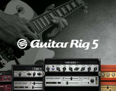 Guitar Rig 5 Pro Vst & Standalone Full Software Download W/ All Presets + Extras