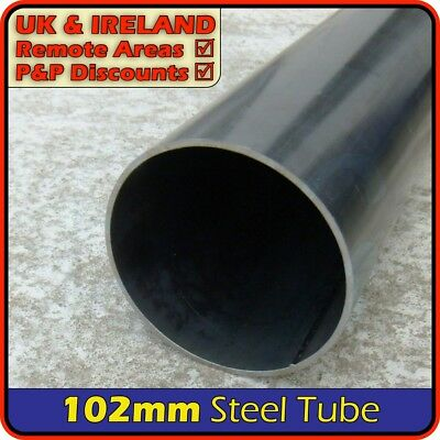 Mild Steel Round Tube ║ 100mm - 120mm outside diameter ║ pipe section,post,pole