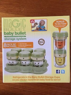 Baby Bullet / Magic Bullet Food Freezer Storage / Container