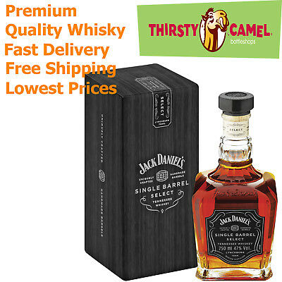 Jack Daniel's Single Barrel Select Tennessee Whiskey 70CL 45% (Boxed)