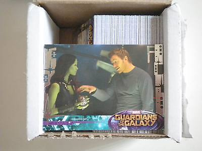 2014 UPPER DECK Guardians of the Galaxy 90 cartes basique COMPLET Loisirs