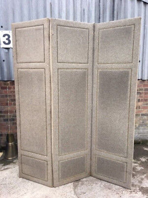 A LARGE UPHOLSTERED Room Dividerdressing screenprivacy screen