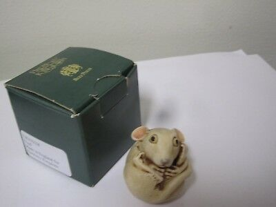 Harmony Kingdom Fred Roly Polys Mouse TJKIT01C KITCHENER Canada SIGNED A Binder