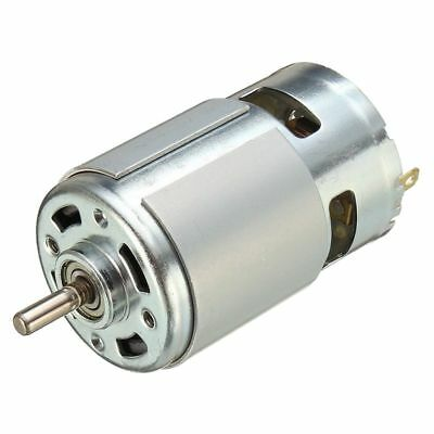 775 DC 12V-36V 3500-9000RPM Motor Large Torque Ball Bearing High Power Low  F3O3