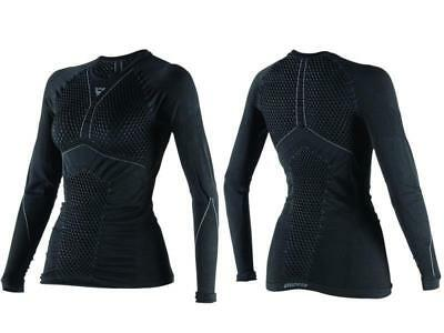 Dainese Sottomaglia D-Core Thermo Tee manica lunga Donna Nero/Antracite tg. XS/S