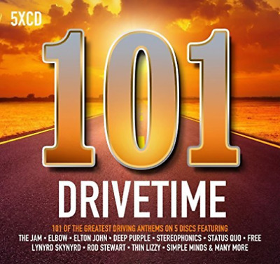Various Artists-101 Drivetime  (UK IMPORT)  CD NEW