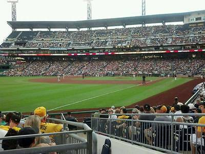 1-4 New York Mets @ Pittsburgh Pirates PNC Tickets 7/26/18 Sec 131 Row E PNC