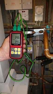 HVAC plumbers temperature differential kit (Direct from uk manufacturer)