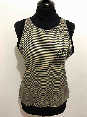 VALENTINO VINTAGE '80 Canotta Donna Cotton Woman T-Shirt Tank Top Sz.M - 44
