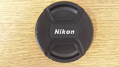 52mm Front Centre Pinch Lens Cap For Nikon made by Sonia.