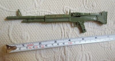 Toy Machine Guns Military Soldier Green for pretend play Rifle pre-owned plastic