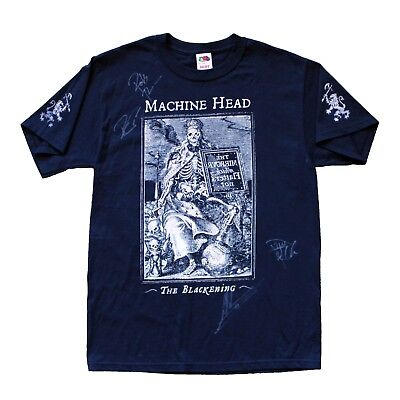 Signed/Autographed 2008 Machine Head T-Shirt - FREE SHIPPING