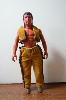 "1993 Marchon Grand Chanpions 6"" Figure Frontier Riders Indian Figure Possable"