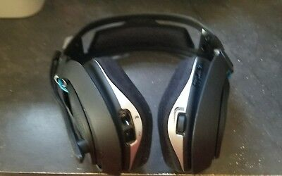 Astro A50  Edition Black/Blue Headband Headsets  SOLD AS IS FOR PARTS OR REPAIR