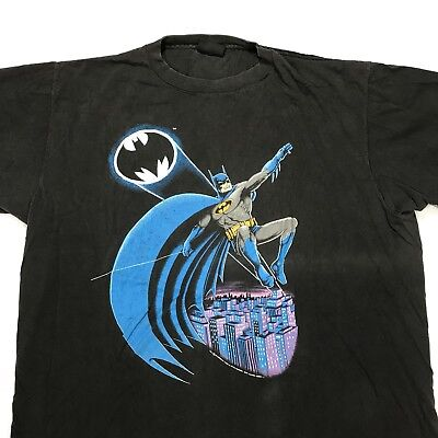 Vintage Batman 1988 DC Comics T Shirt 80s VTG Single Stitch Rare