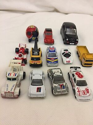 Bundle / Collection Of Mostly Matchbox Cars -1982, 1983, 1984, 1985 -See Photos