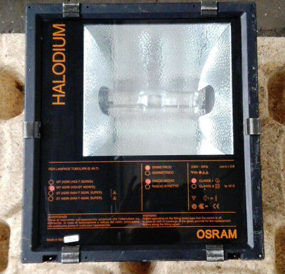 Osram Halodium/Hallway, Ceiling Lighting/Industry, 400 W Good Condition