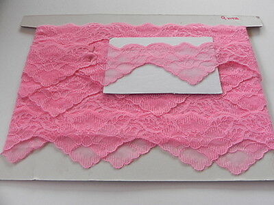 Card of  New Lace - Bright Pink Scollop