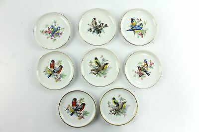 "Vintage Kaiser 4"" Bird Porcelain Pin Butter Pat Dish Set West Germany"