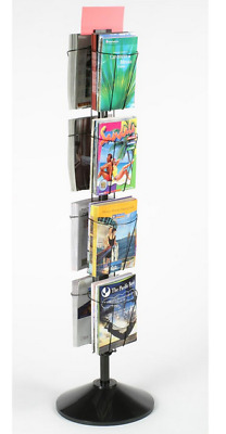 8 Pocket Spinning Wire Literature Rack for Magazines