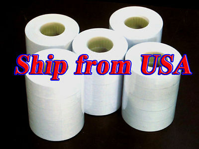 25 rolls Labels For MX-6600 2 lines Price Label Gun