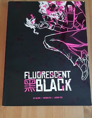 Fluorescent Black Heavy Metal Oversized Softcover MF Wilson Nathan Fox