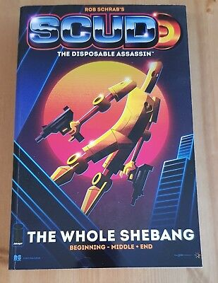 Rob Schrab's Scud The Disposable Assassin The Whole Shebang Complete Image 2011